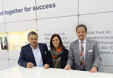 Erfolgreicher Messeauftritt an der Swiss Plastics in Luzern