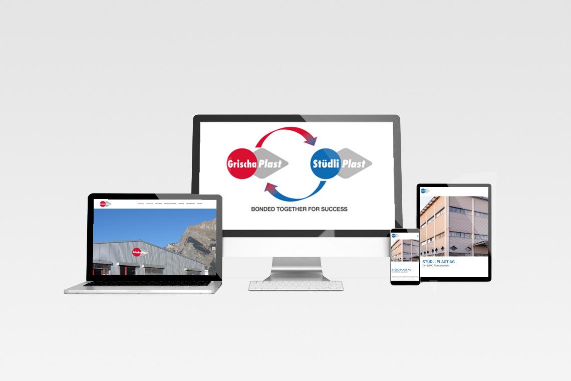 Neue Website der Stüdli Plast AG